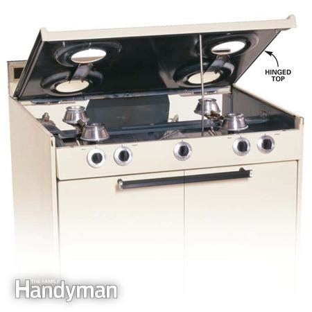 Gas Cooktop Repair - how to repair a gas range or an electric range the