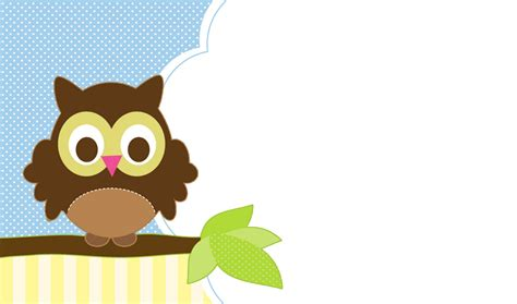 owl theme free owl themed baby shower templates for boy home party
