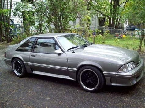 gray fox mustang 18x10 285 35 18 rear 18x9 255 40 18 front fox 18
