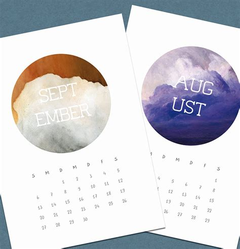calendar design for hospital 50 absolutely beautiful 2016 calendar designs hongkiat