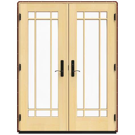 Masterpiece Patio Door Reviews by Jeld Wen 74 5 In X 96 375 In W 4500 Series Left