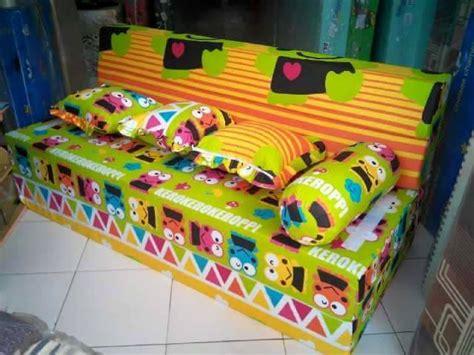 Sofa Bed Karpet Karakter Bekasi sofa bed anak rakha olshop home