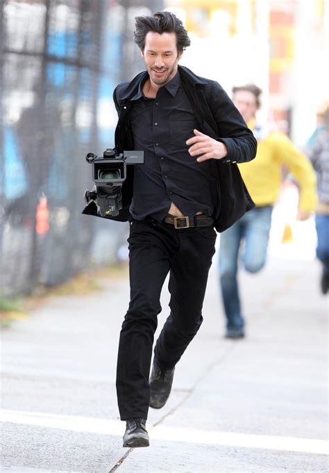 Keanu Reeves Runs The Paparazzi psbattle keanu reeves running after stealing the