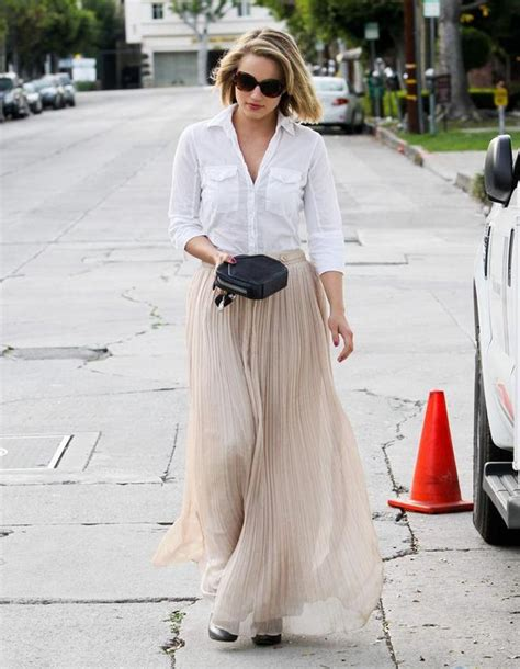 18 stylish pleated skirts you must try this summer