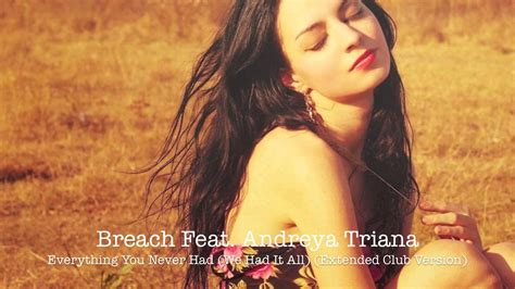 everything you never had we had it all breach feat andreya triana everything you never had we