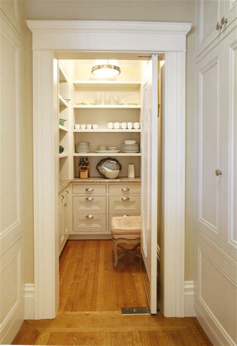 Houzz Kitchen Pantry by Pacific Heights Residence Pantry Traditional Kitchen