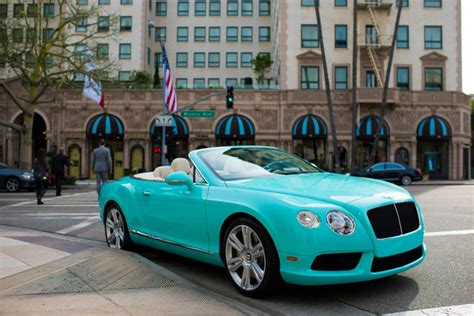 tiffany blue bentley beverly hills dealer commissions tiffany themed bentleys