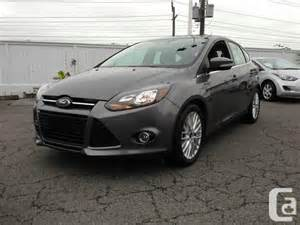 2013 Ford Focus Titanium Hatchback 2013 Ford Focus Titanium Hatchback For Sale In