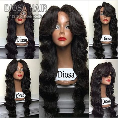 best lace front human hair wigs unprocessed hair malaysian