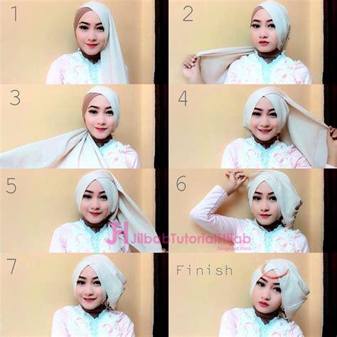 tutorial hijab untuk idul fitri 4 tutorial hijab segi empat untuk lebaran idul fitri