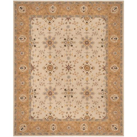shag rug care safavieh arizona shag ivory beige 8 ft x 10 ft area rug asg743a 8 the home depot