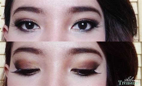 Eyeshadow Wardah Vs Makeover fotd brown smokey eye makeup look silver treasure