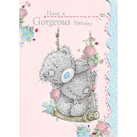 From Me To You Gift Card - birthday cards selection me to you variety of bday greetings cards tatty teddy ebay