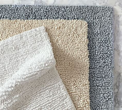 pottery barn bath rug cotton twist bath rug pottery barn