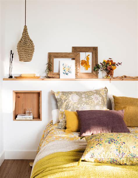 dormitorios en blanco  madera