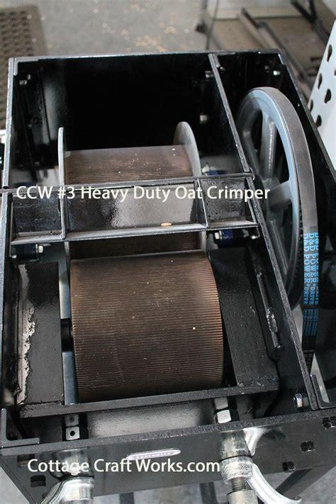 equine oat roller mill crimps  lbs  oats    minute