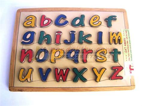 Mainan Edukatif Puzzle Edukasi Beruang Huruf Kecil mainan anak puzzle huruf untuk memperkenalkan huruf pada anak anak