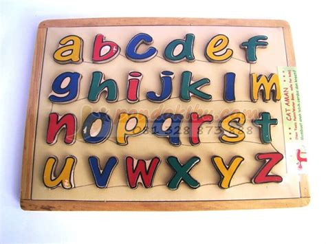 Mainan Anak Edukatif Edukasi Puzzle Alfabet Huruf Dan Angka mainan anak puzzle huruf untuk memperkenalkan huruf pada anak anak