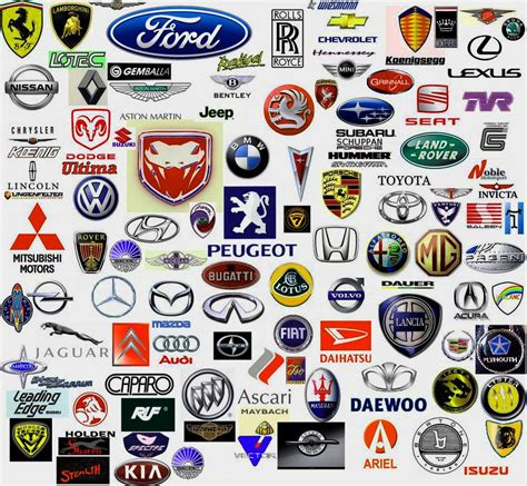 all car logos and names in the world all cars logo with name brand logo pinterest car