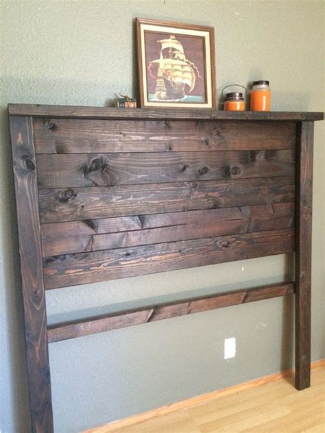 making a rustic headboard best 25 diy headboard wood ideas on pinterest rustic