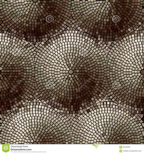 mosaic pattern spiral abstract background stock vector image 60446926
