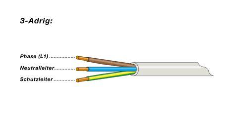 5 len an eine leitung kabel und leitungen elektroinstallation ratgeber f 252 r