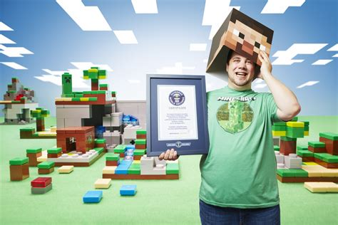 guinness world records largest guinness world records 2015 gamer s edition minecraft marathon and other new records