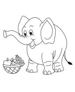 girl elephant coloring pages 36 best elephant coloring pages images on pinterest baby