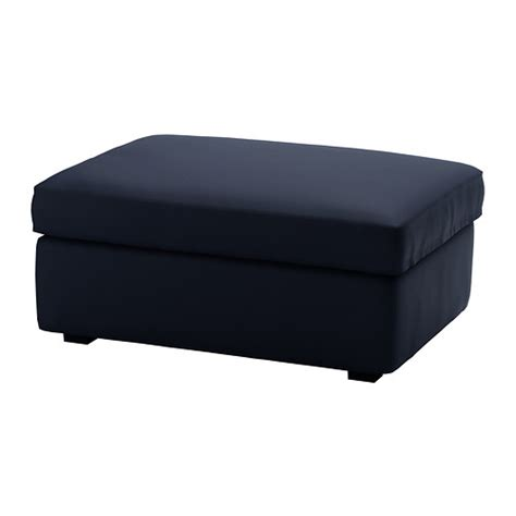 ikea ottomans kivik ottoman with storage orrsta dark blue ikea