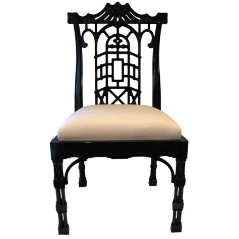 chinese chippendale chairs reproduction chinese chippendale dining chair at 1stdibs