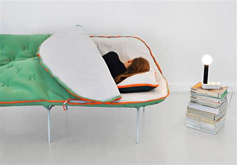 Mega Cozy The Sleeping Bag Sofa Incredible Things