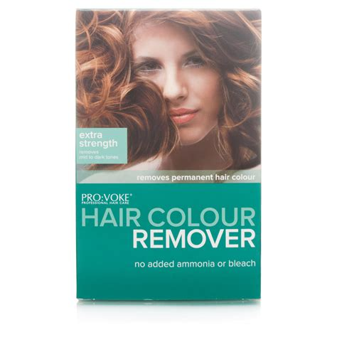 hair color removal provoke hair colour remover strength chemist direct