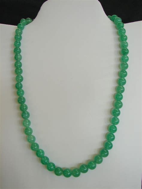 jade bead necklace jade bead necklace for health