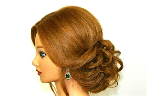 haircut for long medium hair easy romantic hairstyle for long medium hair updo