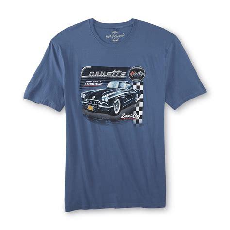 chevrolet clothes chevrolet s big graphic t shirt corvette