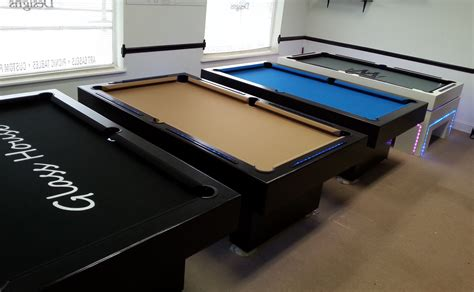 buy handmade custom 7 ft pool table s with l e d lights