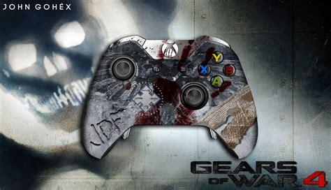 Kaset Xbox One Gears Of War 4 gears of war 4 jd fenix controller xbox one by johngohex