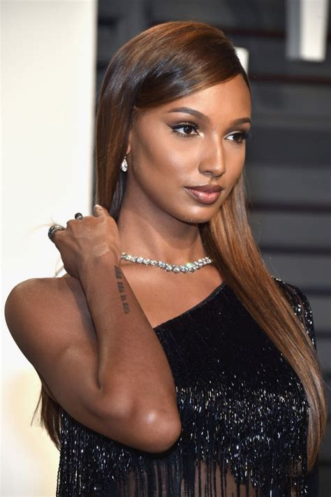 jasmine tookes at 2017 vanity fair oscar party in beverly