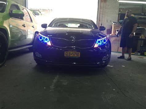 2014 Kia Optima Custom 2014 Kia Optima Custom Halos Installed In Philadelphia