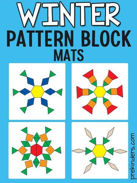 snowflake pattern block mat de 244 b 228 sta prekinders blog bilderna p 229 pinterest alla