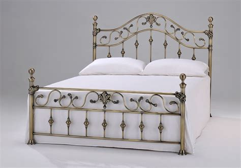 Antique Brass Bed Frame Duchess Kingsize Antique Brass Bed Frame Brass Beds