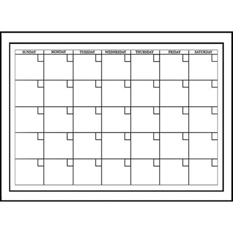 printable calendar undated white dry erase undated monthly calendar calendars com