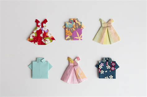 Origami Clothes - origami clothes image collections craft decoration ideas