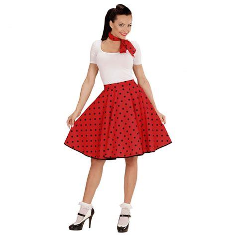 60er jahre 60er jahre petticoat rot rockabilly rock mit halstuch