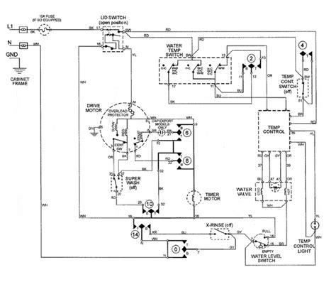 hoover washing machine motor wiring diagram style