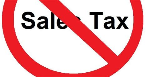 living stingy pay no sales tax possibly