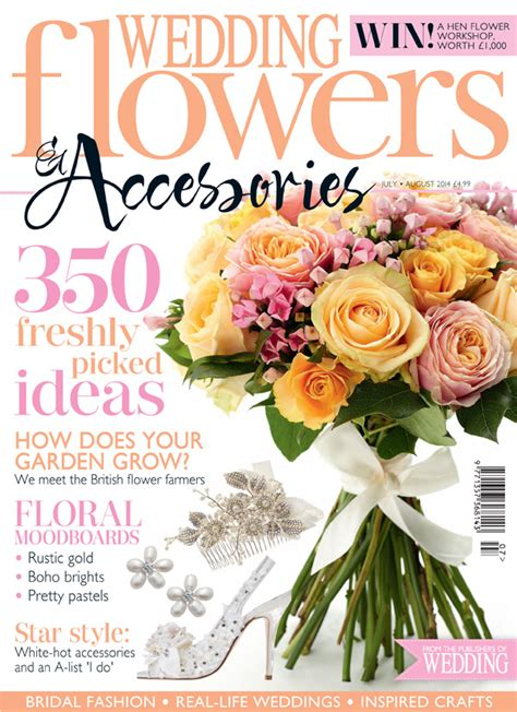flower wedding magazine featured in wedding flowers magazine july 2014 for flowers