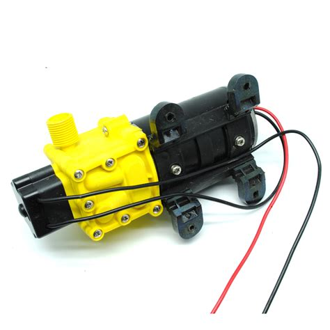Pompa Air Mini High Pressure pompa air elektrik high pressure 12v 80w black