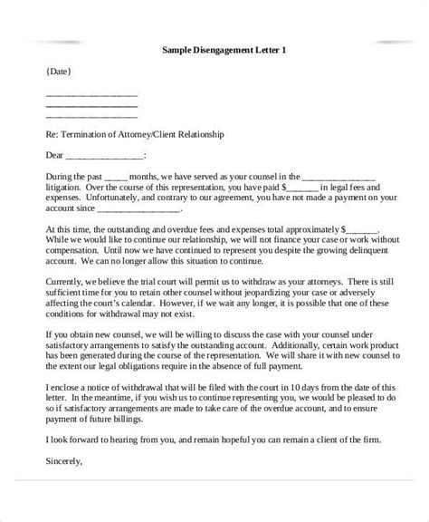 examples termination letter templates