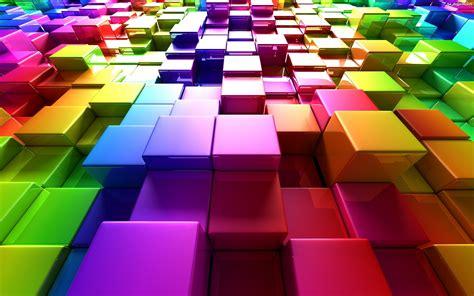 imagenes de cool tiles grafika komputerowa tęczowa kostka na pulpit